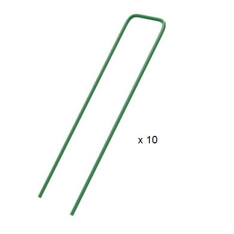 Grapas metálicas FIXSOL Nortene (Caja 10 unidades)