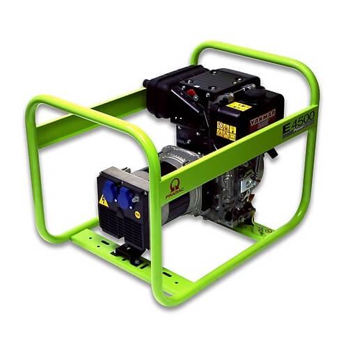 Generador Eléctrico Pramac E4500 - Monofásico - Diésel