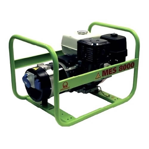Generador eléctrico Pramac MES8000 - 6400W Monofásico