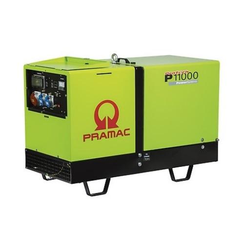 Pramac P11000 Diésel - Generador Eléctrico Trifásico AMF