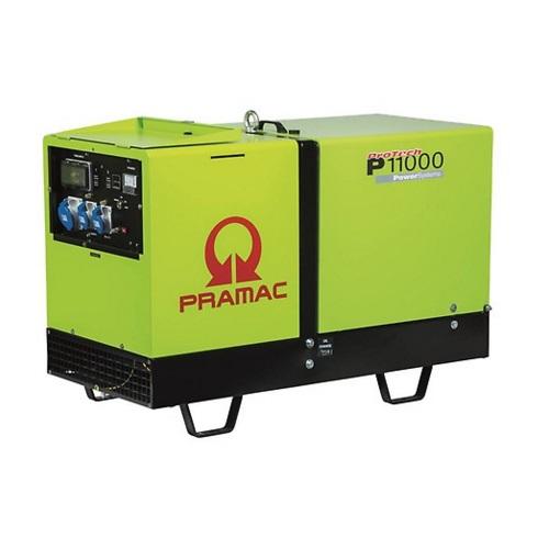 Generador Eléctrico Pramac P11000 Diésel Monofásico IPP