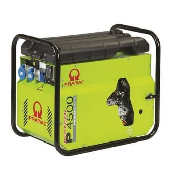 Generador Eléctrico Pramac P4500 Diésel Manual DPP Monofásico