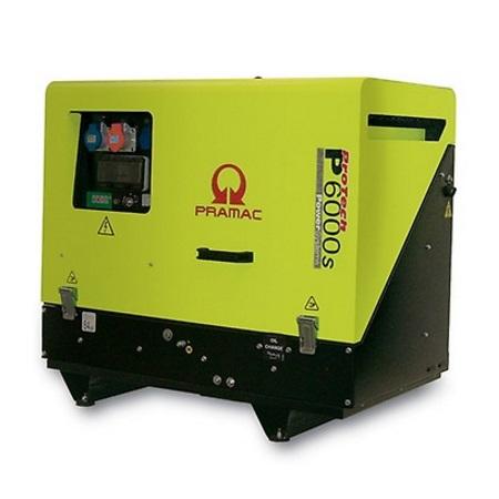Pramac P6000s Diésel - Generador Eléctrico Trifásico CONN + DPP superinsonoro - Referencia PF602TY400A