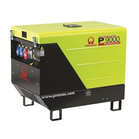 Pramac P9000 Diésel - Generador Eléctrico Monofásico CONN + DPP + AVR - Referencia PF752SRAY03