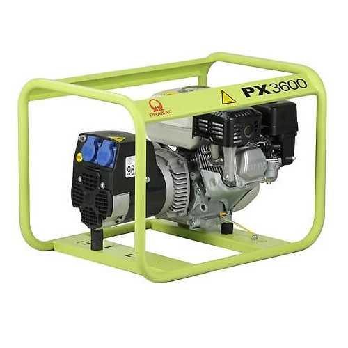 Generador Eléctrico Pramac PX3600 con motor Honda - Monofásico