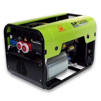 Generador Eléctrico Pramac SP 12000 Trifásico AVR + IPP
