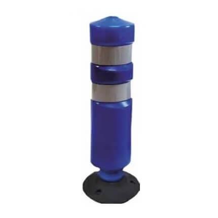 Hito de balizamiento y señalización H-75 Basculante - Azul