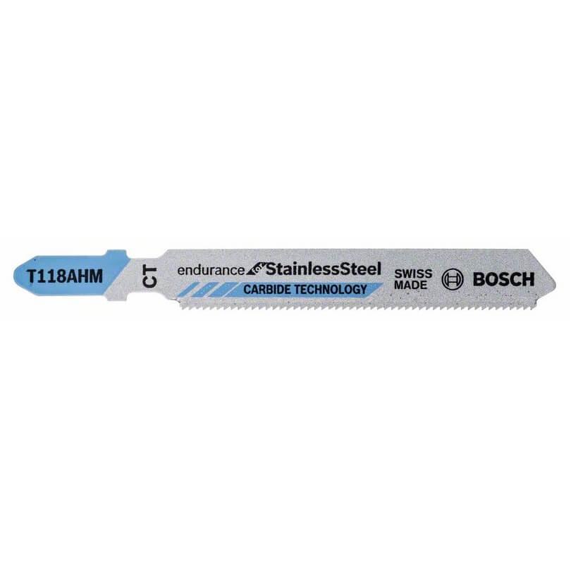 Hoja de sierra de calar Bosch T 118 AHM INOX (Caja 3 unidades)