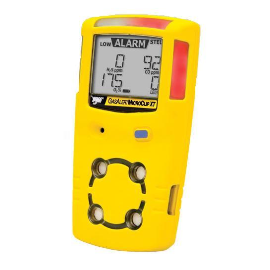 Detector portátil multigás Gas Alert Micro Clip XL WMC2EX - LIE/O2