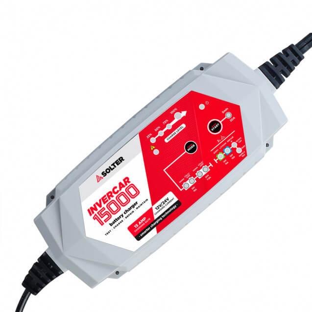 Solter INVERCAR 15000 - Cargador de batería de 12/24V - Referencia 10068