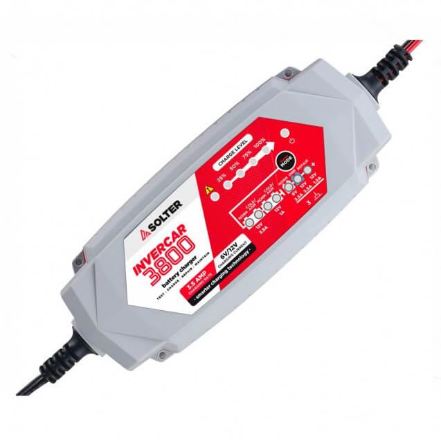 Solter INVERCAR 3800 - Cargador de batería de 6/12V - Referencia 10066