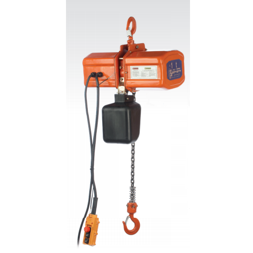 Polipasto eléctrico de cadena Jaguar ECH4 - Trifásico - 500Kg