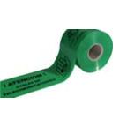 Banda señalización telecomunicaciones verde Jar de 15cm - 200 metros