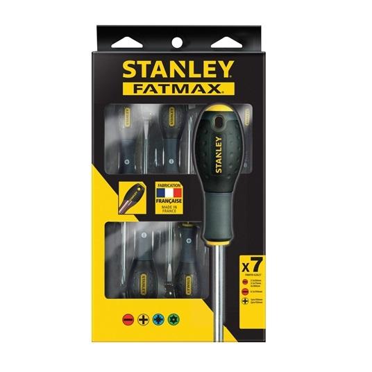 Juego 7 destornilladores Fatmax Stanley - Planos/Phillips