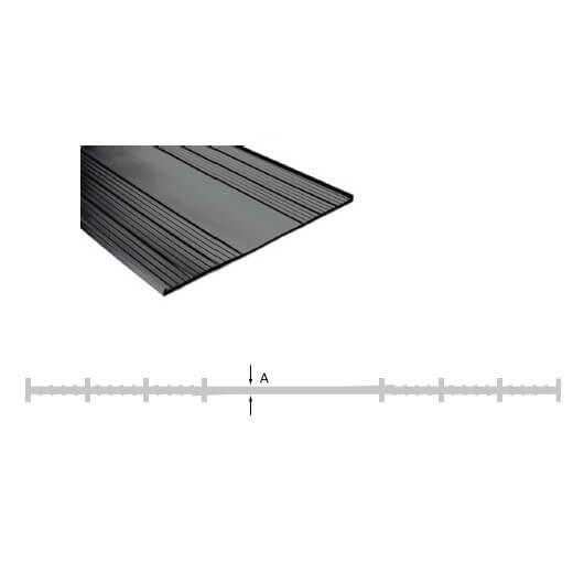 Junta dilatación plana de PVC de 150mm (Bobina 50 metros) - Referencia SUIPLA150