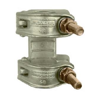 Junta a tracción para tubo Ø 48 mm.