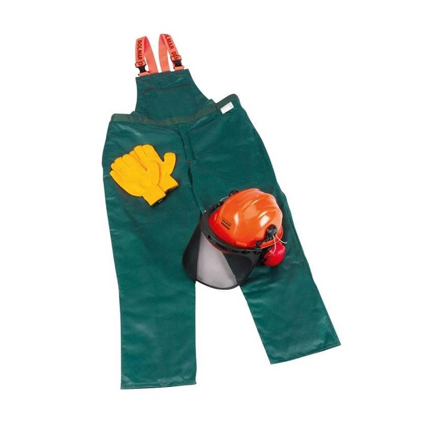 Kit vestuario seguridad forestal Dolmar