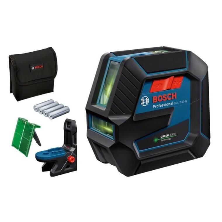 Bosch GCL 2-50 G - Nivel láser combinado de línea verde - Referencia 0601066M00