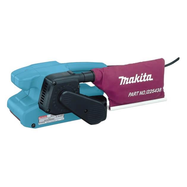Lijadora de banda Makita 9911 de 76x457mm con velocidad regulable - Referencia 9911