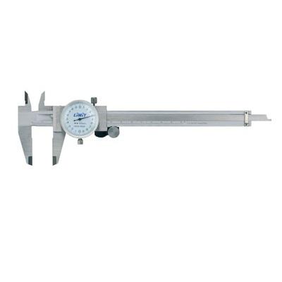 Pie de rey con reloj indicador - 150mm