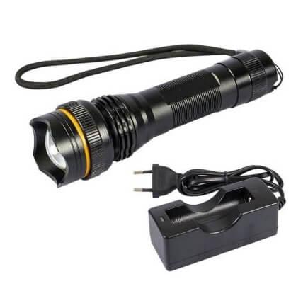 Linterna de bolsillo recargable LED CREE - 500 lúmenes