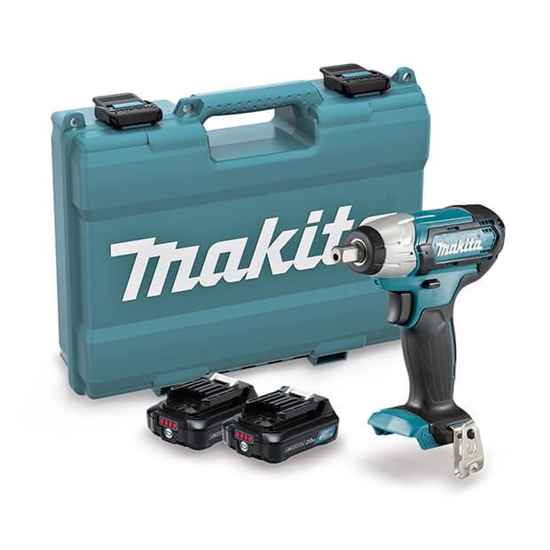 "Llave impacto Makita TW141DSAE - 12V 1/2"" con 2 baterías"