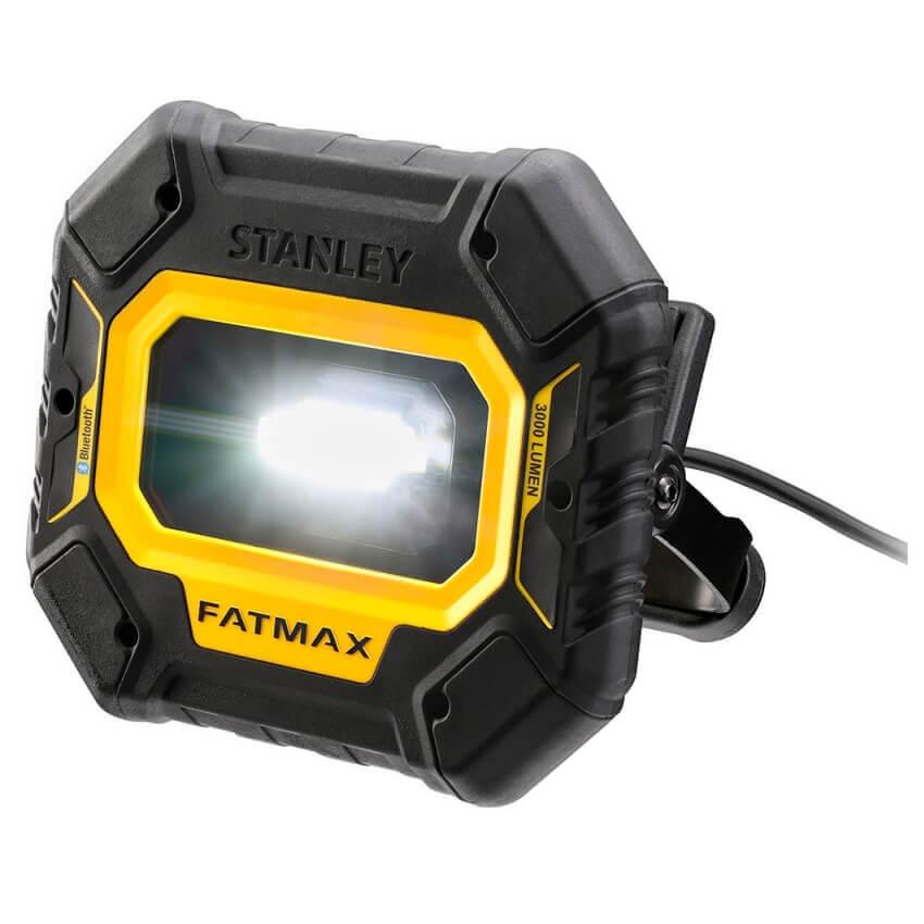 Luz de área Fatmax Stanley con bluetooth