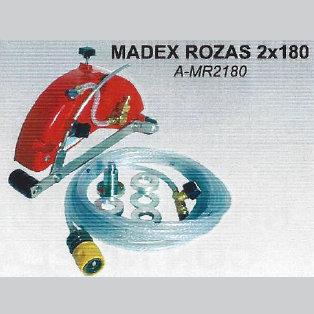 Protector antipolvo rozas con nivelador Madex 180 - 2 discos