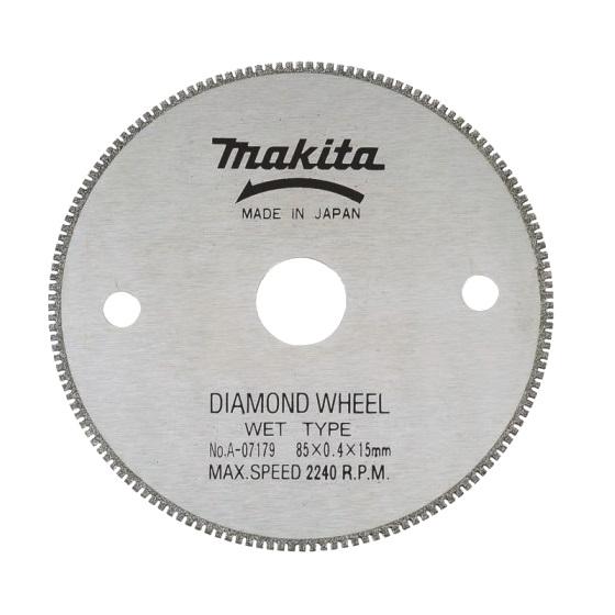 Disco de diamante cremallera Makita de 85x15mm