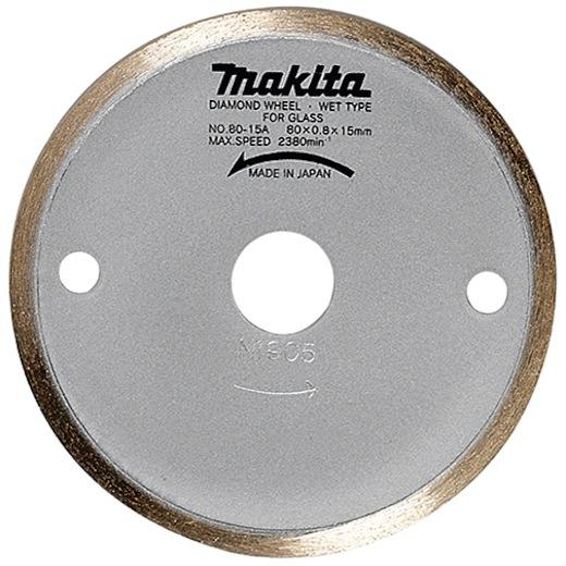 Disco de diamante continuo Makita de 80x15mm - Referencia 792296-4