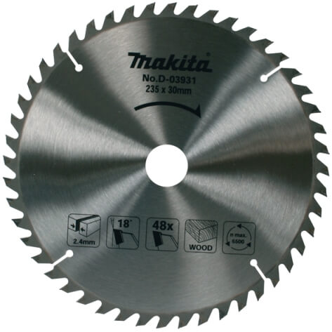 Disco sierras circulares Makita Specialized Standard - 165x20mm 10 dientes