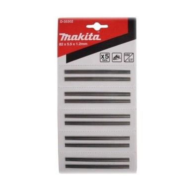 Set 5 paquetes de minicuchillas Makita de 82mm
