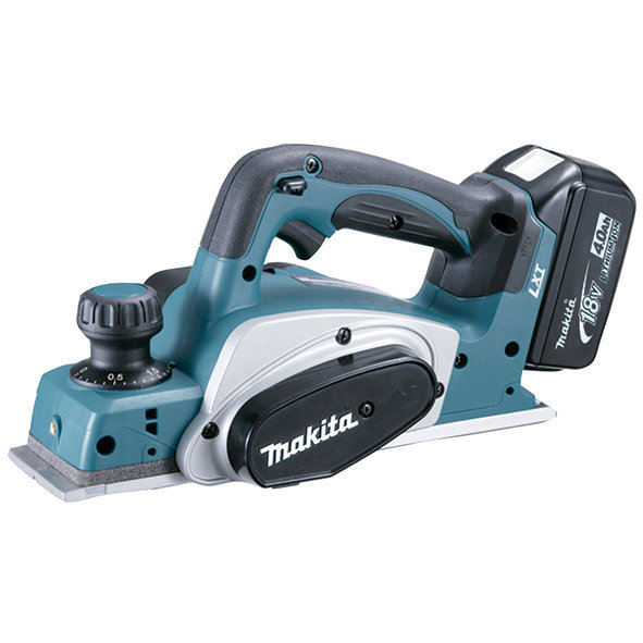 Cepillo Makita DKP180RMJ 82mm 18V Litio-ion con 2 baterías de 4ah