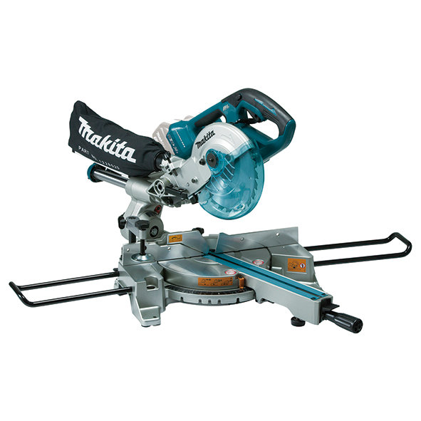 Ingletadora telescópica Makita DLS714NZ 18Vx2 Litio LXT 190mm