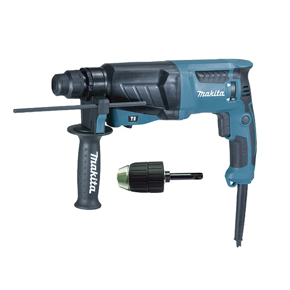 Martillo ligero Makita HR2630X7 800W 26mm con eje mandril SDS-Plus - Referencia HR2630X7