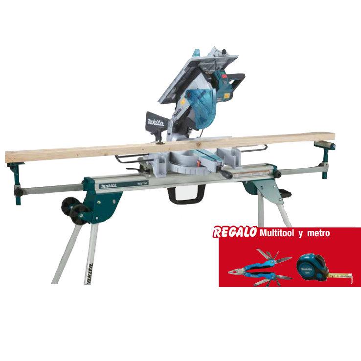 Ingletadora makita lh1200fl 305mm con mesa superior c turr for Ingletadora con mesa superior