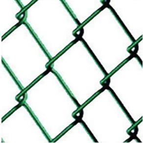 Malla metálica plastificada verde de simple torsión 50/17 Mod. CS - 1'00 x 25 metros