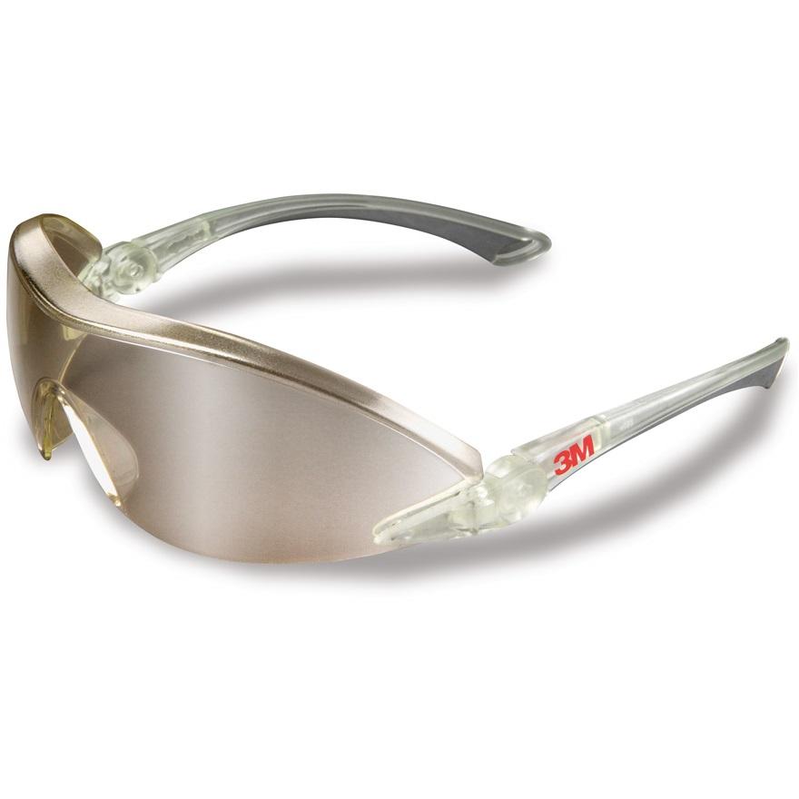 captura boutique de salida estilo de moda Gafas de seguridad ligeras con ocular espejo 3M 2844