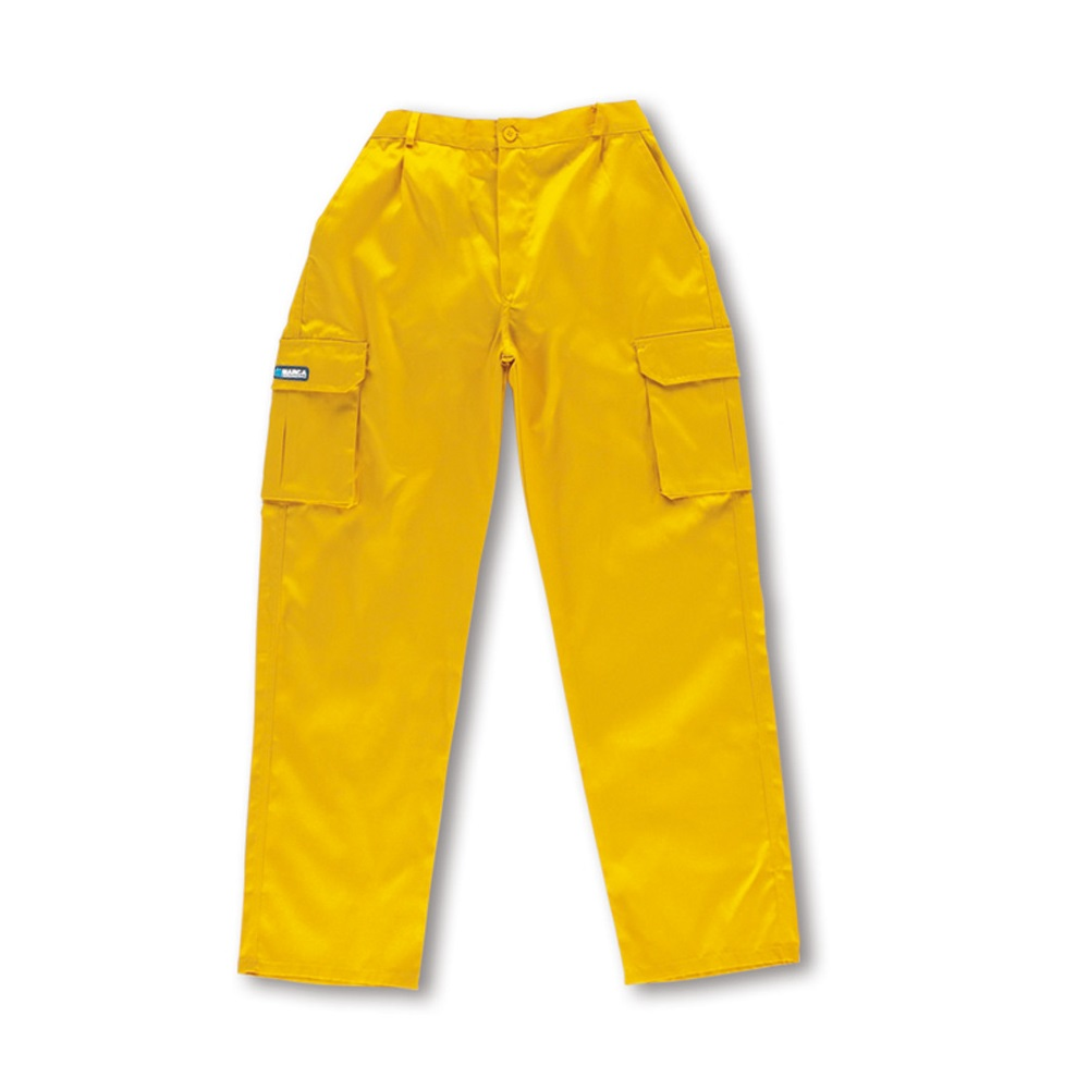 Pantalón tergal TOP amarillo 488-PY Top