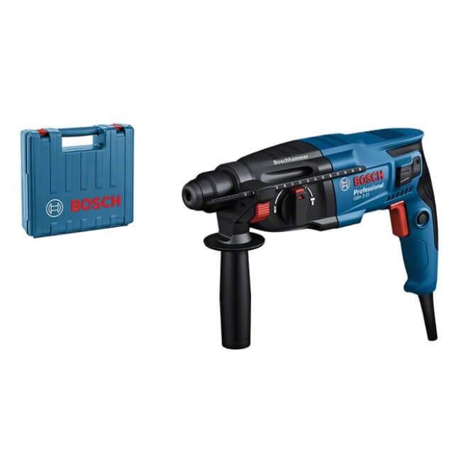 Bosch GBH 2-21 + Maletín - Martillo perforador con SDS Plus - Referencia 06112A6000