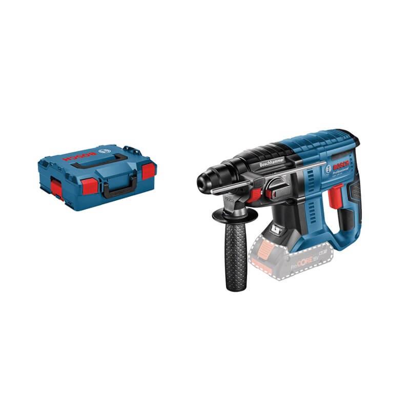 Martillo perforador a batería Bosch GBH 18V-20 Professional en L-BOXX