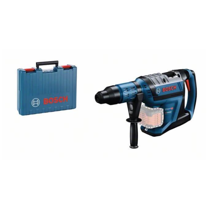Bosch GBH 18V-45 C Professional + Maletín - Martillo perforador a batería BITURBO con SDS max - Referencia 0611913000