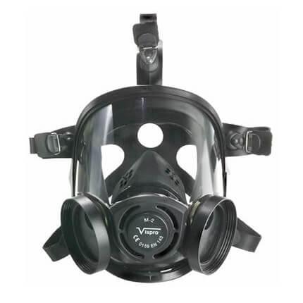 Máscara facial completa VISPRO antiga Mod. M-2