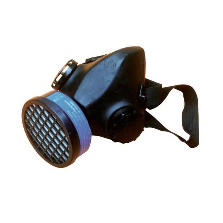 Semimáscara de 1 filtro con filtro antipolvo incluido