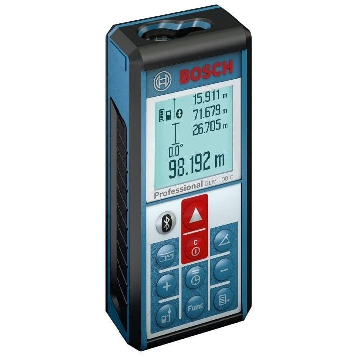 Medidor láser de distancias Bosch GLM 100 C Professional