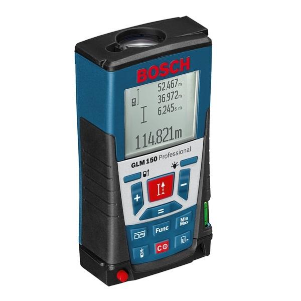Bosch GLM 150 Professional - Medidor láser de distancias de 150 metros - Referencia 0601072000
