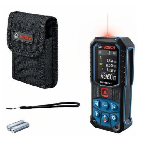 Bosch GLM 50-27 C Professional - Medidor láser de distancias de 50 metros - Referencia 0601072T00