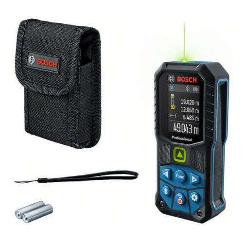 Bosch GLM 50-27 CG Professional - Medidor láser de distancias de 50 metros - Referencia 0601072U00