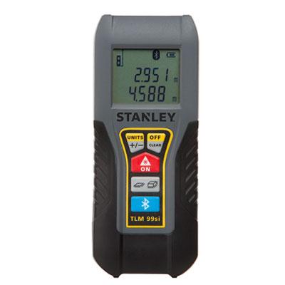 Medidor láser de distancias Stanley TLM99Si de 35m (con Bluetooth)