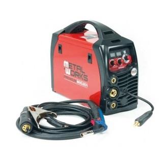 Soldadora inverter profesional MetalWorks Premium Mig 201 Multifunción - Referencia 829300200